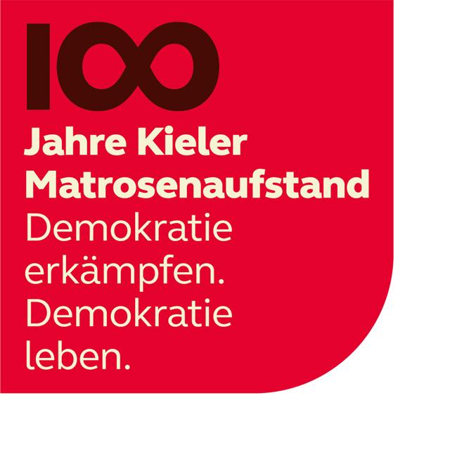 Grafik 100 Jahre Kieler Matrosenaufstand