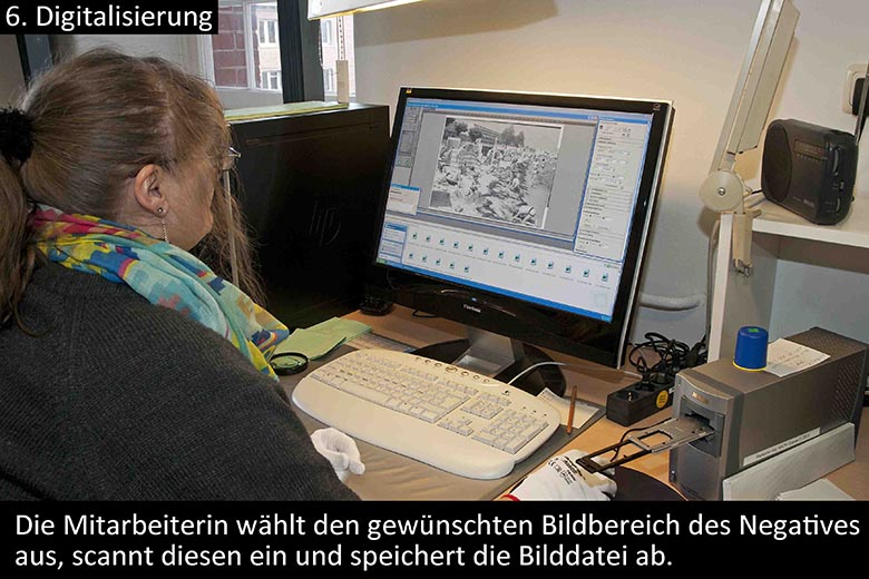 Digitalisierung am PC-Monitor