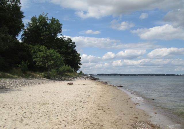 Der Hundestrand am Falckensteiner Strand title=