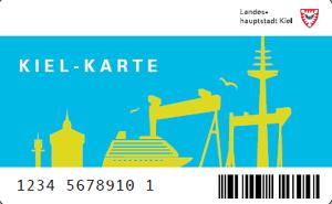 Foto einer Kiel-Karte title=